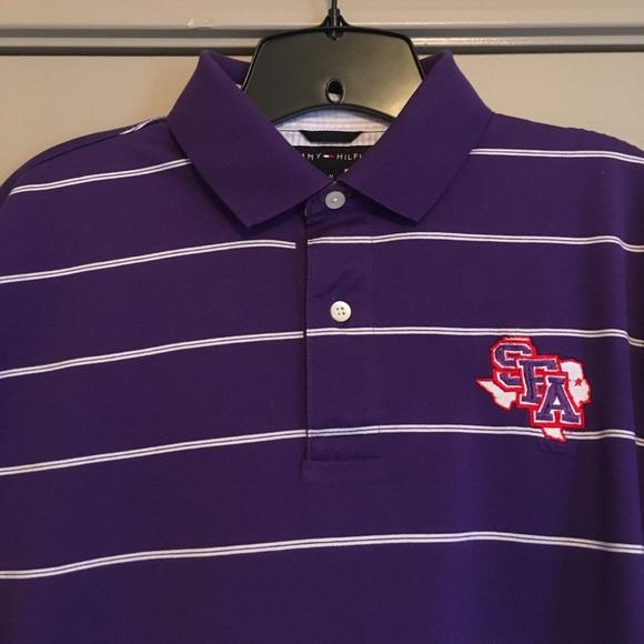 10cd1b92 Tommy Hilfiger Shirts | Stephen F Austin Sfa Mens Polo | Poshmark